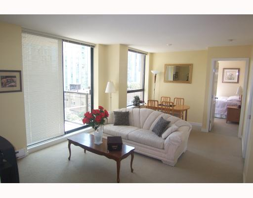 "Photo 3: 605 1295 RICHARDS Street in Vancouver: Downtown VW Condo for sale in ""THE OSCAR."" (Vancouver West)  : MLS® # V719885"