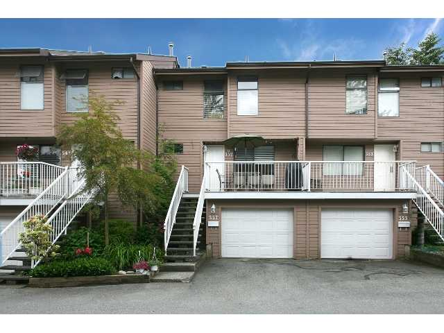"Main Photo: 557 CARLSEN Place in Port Moody: North Shore Pt Moody Townhouse for sale in ""EAGLE POINT"" : MLS®# V835962"