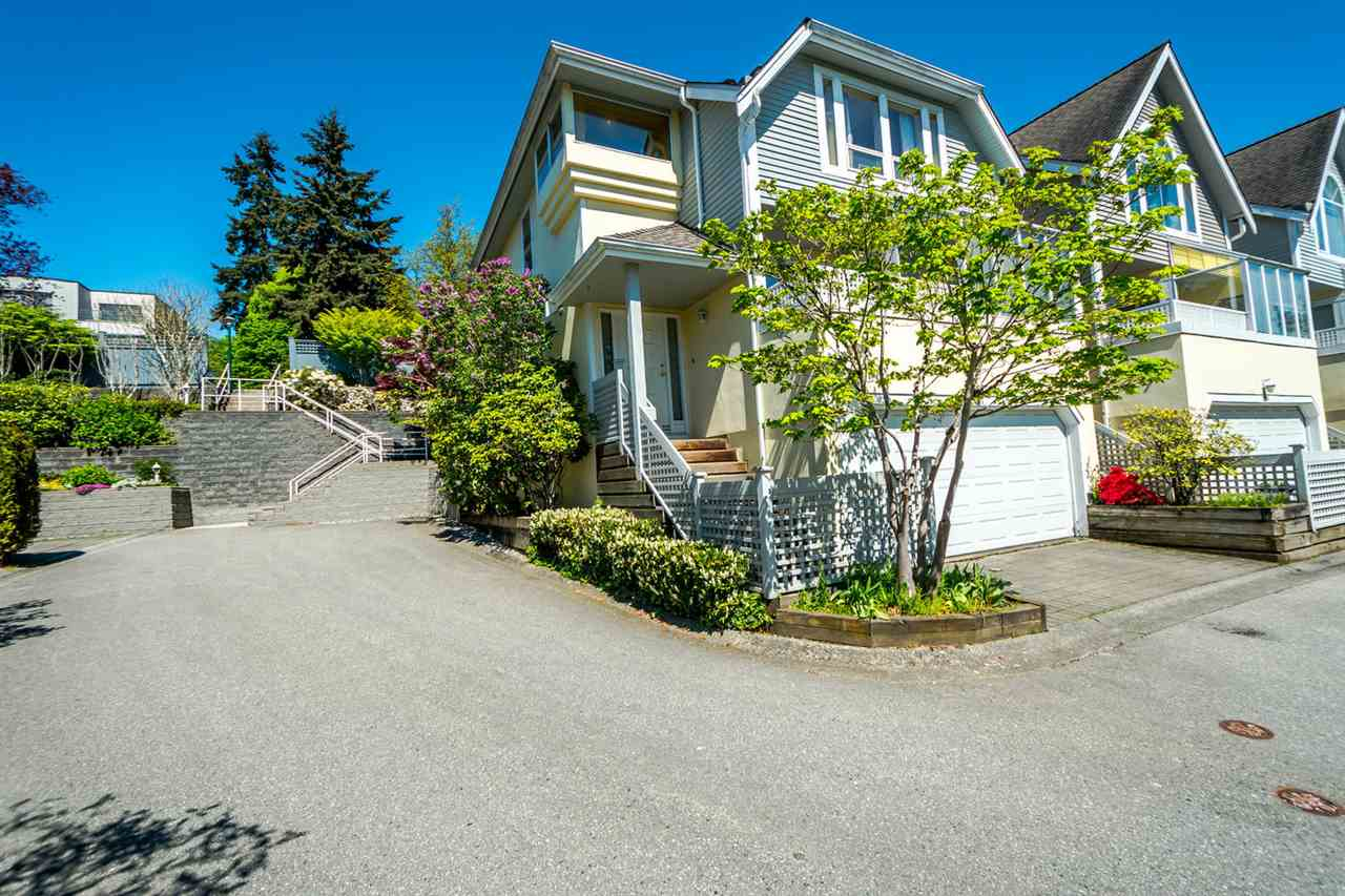 "Main Photo: 2201 PORTSIDE Court in Vancouver: Fraserview VE Townhouse for sale in ""RIVERSIDE TERRACE"" (Vancouver East)  : MLS®# R2163820"