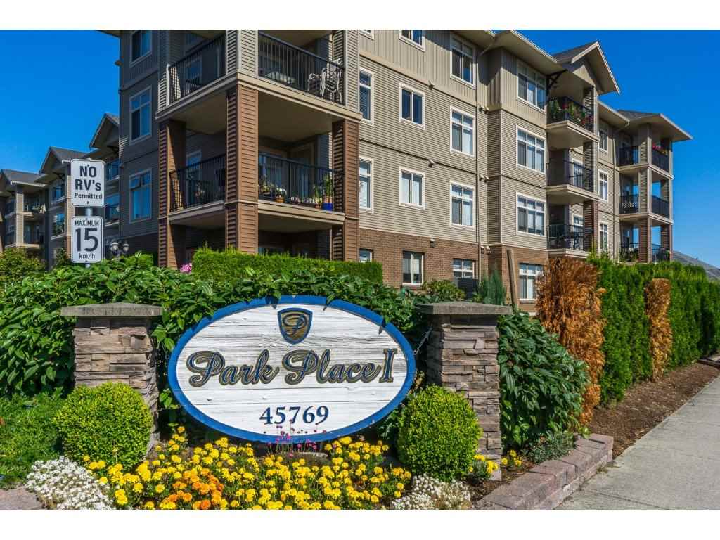 "Main Photo: 113 45769 STEVENSON Road in Chilliwack: Sardis East Vedder Rd Condo for sale in ""Homelife Property Mgnt"" (Sardis)  : MLS® # R2100141"