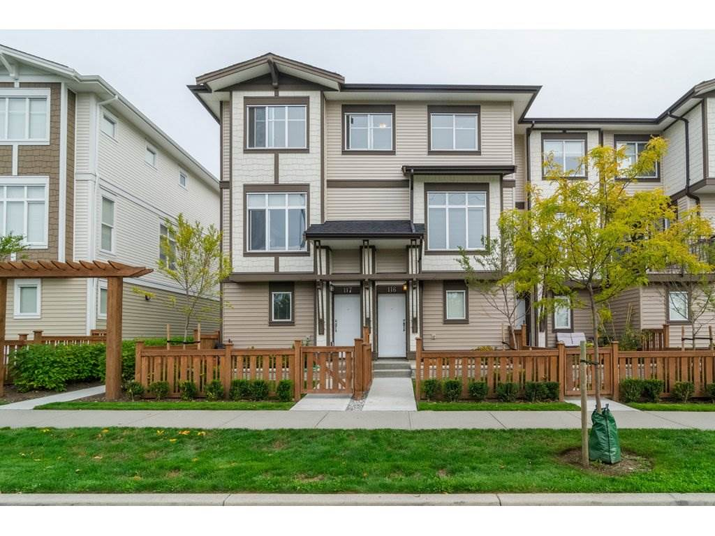 "Main Photo: 116 19433 68 Avenue in Surrey: Clayton Townhouse for sale in ""The Grove"" (Cloverdale)  : MLS®# R2112157"