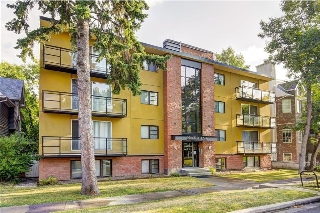 Main Photo: 401 922 19 Avenue SW in Calgary: Lower Mount Royal Condo for sale : MLS® # C4133070
