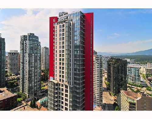 Main Photo: 3204 1211 MELVILLE Street in Vancouver West: Condo for sale : MLS® # V908677