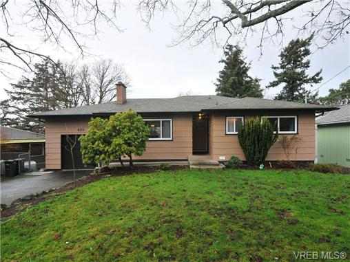 Main Photo: 820 Elrick Place in VICTORIA: Es Rockheights Single Family Detached for sale (Esquimalt)  : MLS®# 344942