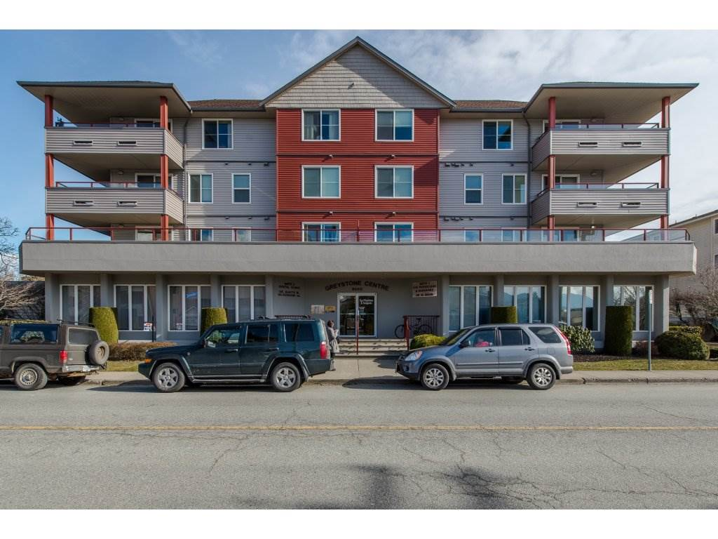 "Main Photo: 404 8980 MARY Street in Chilliwack: Chilliwack W Young-Well Condo for sale in ""GREYSTONE CENTRE"" : MLS®# R2141307"