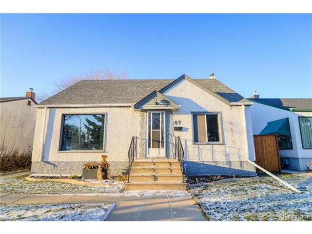 FEATURED LISTING: 67 Thorndale Avenue WINNIPEG