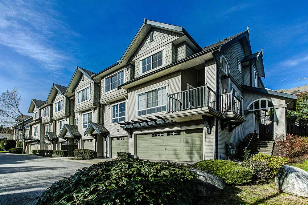"Main Photo: 18 2978 WHISPER Way in Coquitlam: Westwood Plateau Townhouse for sale in ""WHISPER RIDGE"" : MLS®# R2038558"