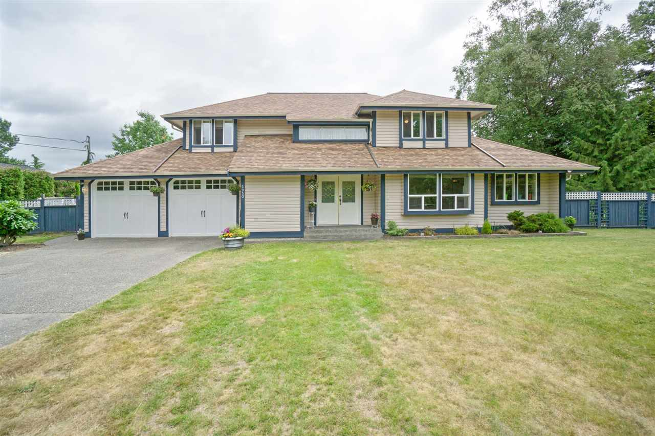 "Main Photo: 5950 243 Street in Langley: Salmon River House for sale in ""Strawberry Hills"" : MLS®# R2185425"