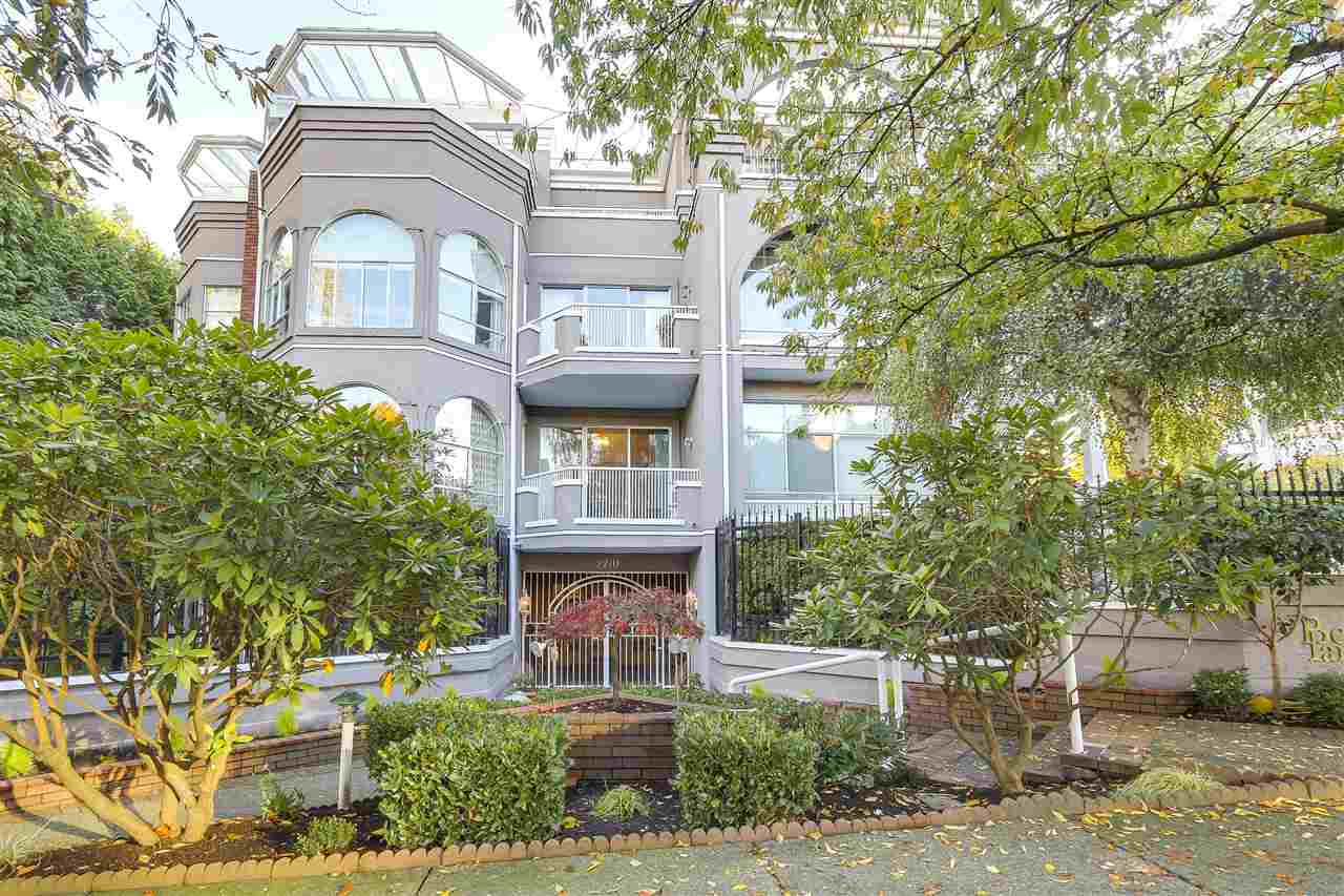 Main Photo: 201 2210 W 40TH Avenue in Vancouver: Kerrisdale Condo for sale (Vancouver West)  : MLS® # R2218171