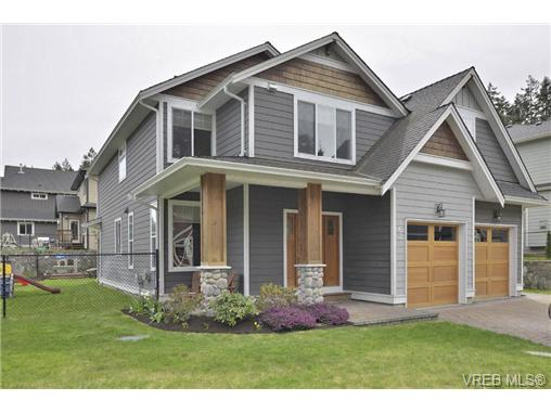 Main Photo: 763 Hanbury Place in VICTORIA: Hi Bear Mountain Single Family Detached for sale (Highlands)  : MLS®# 336052