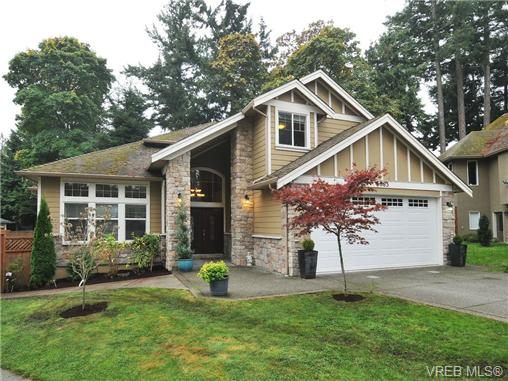 Main Photo: 5063 Clutesi Street in VICTORIA: SE Cordova Bay Single Family Detached for sale (Saanich East)  : MLS® # 343289