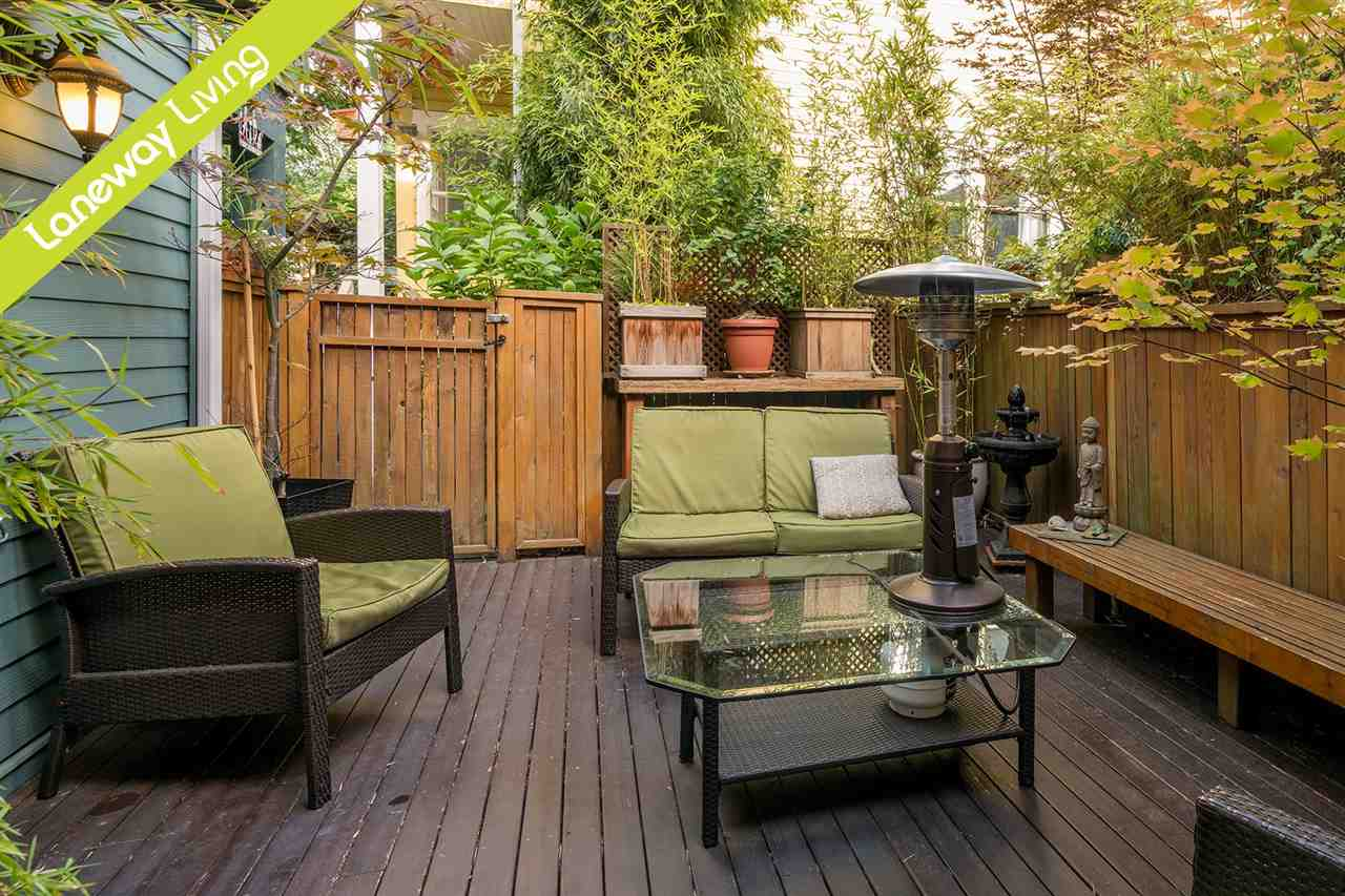 Main Photo: 849 KEEFER Street in Vancouver: Mount Pleasant VE Townhouse for sale (Vancouver East)  : MLS® # R2204383