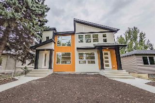 Main Photo: 11639 128 Street in Edmonton: Zone 07 House Half Duplex for sale : MLS® # E4085700