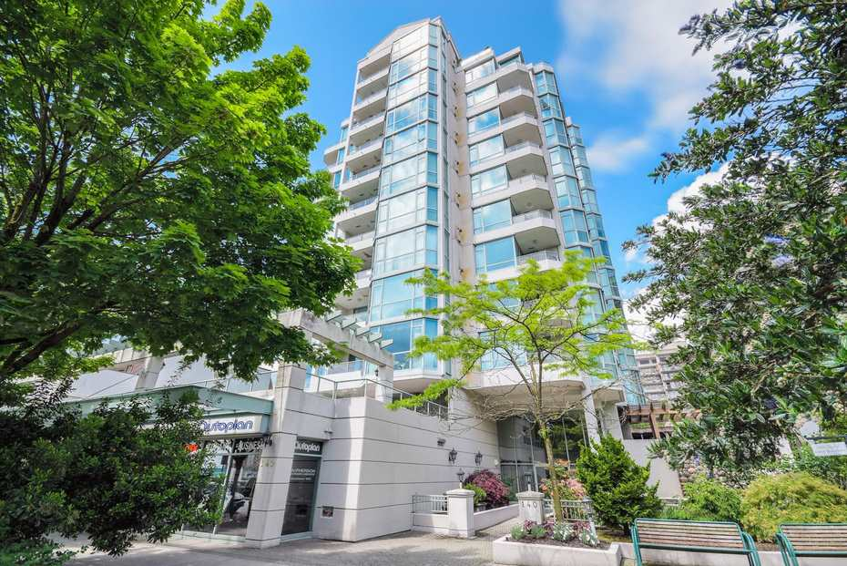 "Main Photo: 1102 140 E 14TH Street in North Vancouver: Central Lonsdale Condo for sale in ""Springhill"" : MLS®# R2255608"