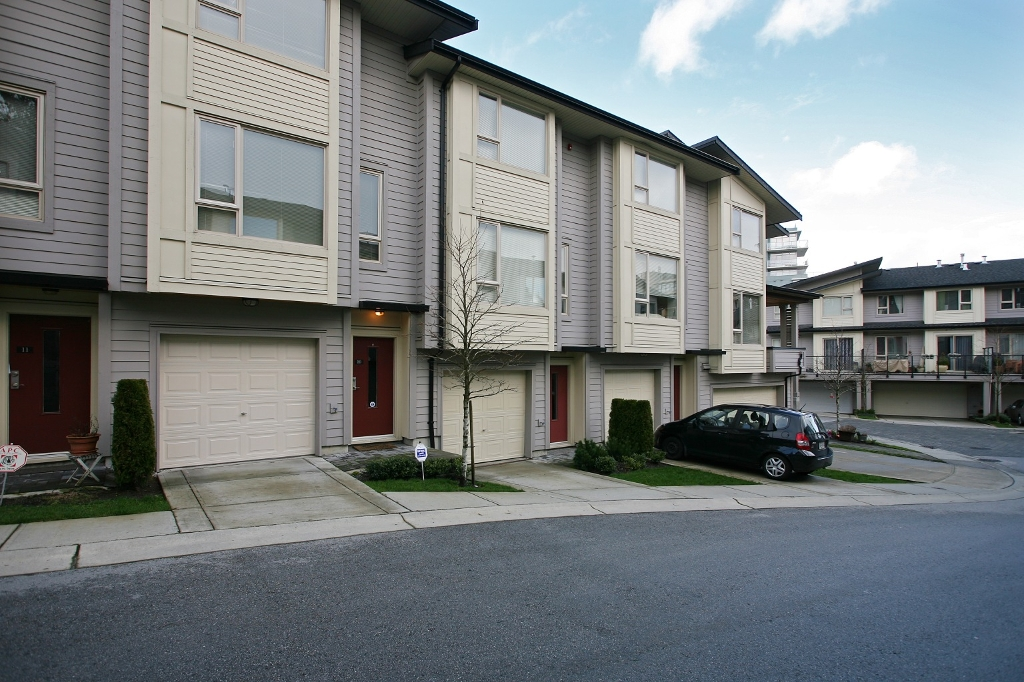 the townhomes at Simon fraser