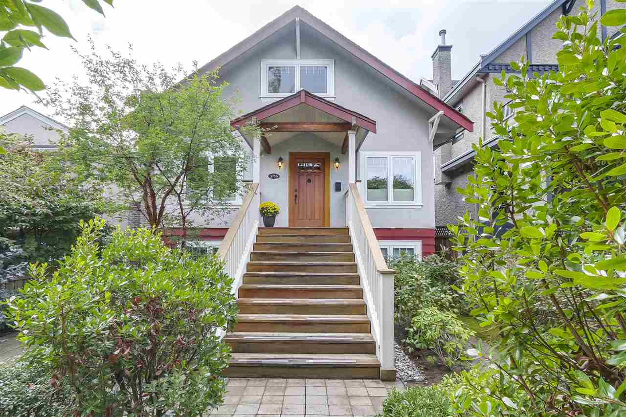 "Main Photo: 3756 W 19TH Avenue in Vancouver: Dunbar House for sale in ""DUNBAR"" (Vancouver West)  : MLS® # R2208572"