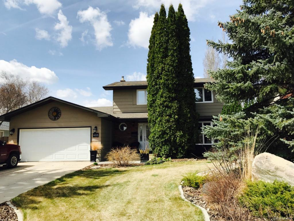 Main Photo: 405 Clearwater Terrace in Saskatoon: River Heights Single Family Dwelling for sale (Saskatoon Area 03)  : MLS® # 607385