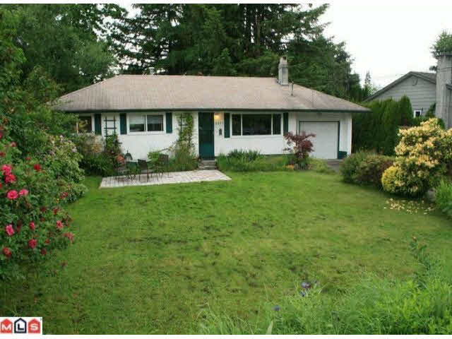 Main Photo: 8977 MACKIE STREET in : Fort Langley House for sale (Langley)  : MLS®# F1215206