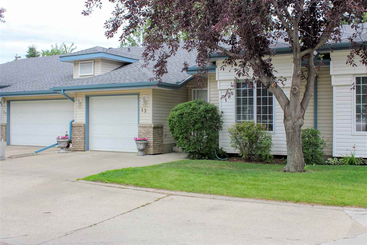 Main Photo: 13 20 ERIN RIDGE Road: St. Albert Townhouse for sale : MLS®# E4120748
