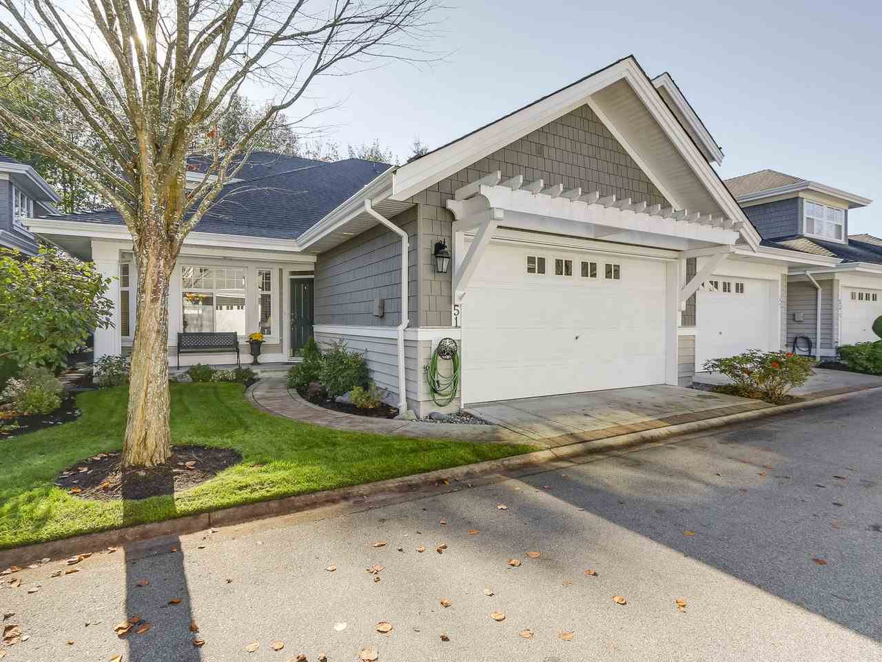 "Main Photo: 51 5900 FERRY Road in Delta: Neilsen Grove Townhouse for sale in ""CHESAPEAKE LANDING"" (Ladner)  : MLS® # R2218326"