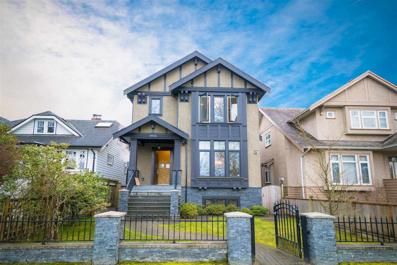 Main Photo: 3930 W 17TH Avenue in Vancouver: Dunbar House for sale (Vancouver West)  : MLS®# R2290911