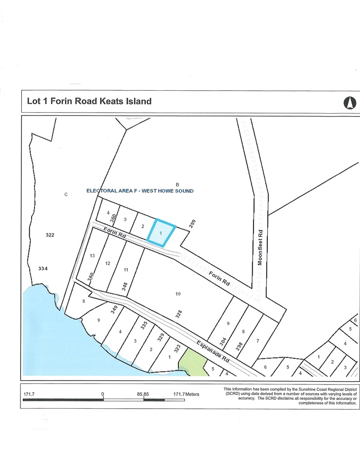 FEATURED LISTING: Lot 1 FORIN Road Keats Island