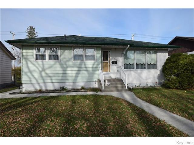 Main Photo: 613 Melrose Avenue West in WINNIPEG: Transcona Residential for sale (North East Winnipeg)  : MLS® # 1529134