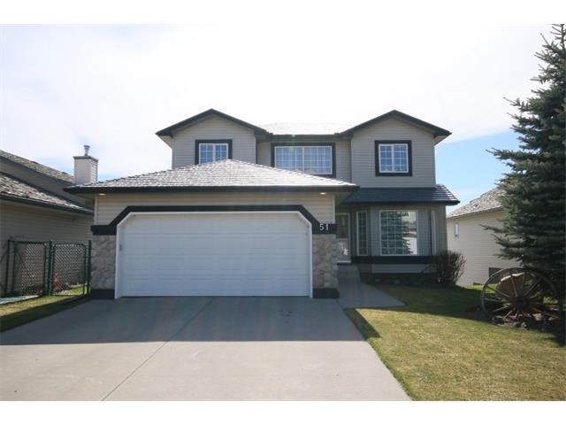 Main Photo: 51 GLENEAGLES View: Cochrane House for sale : MLS®# C4008842