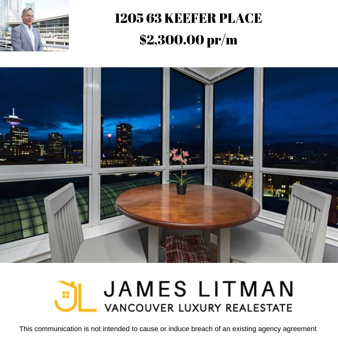 FEATURED LISTING: 1205 63 Keefer Place Vancouver