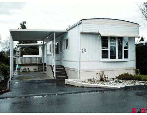 "Main Photo: 15875 20TH Ave in White Rock: King George Corridor Manufactured Home for sale in ""SEARIDGE BAYS"" (South Surrey White Rock)  : MLS® # F2625048"