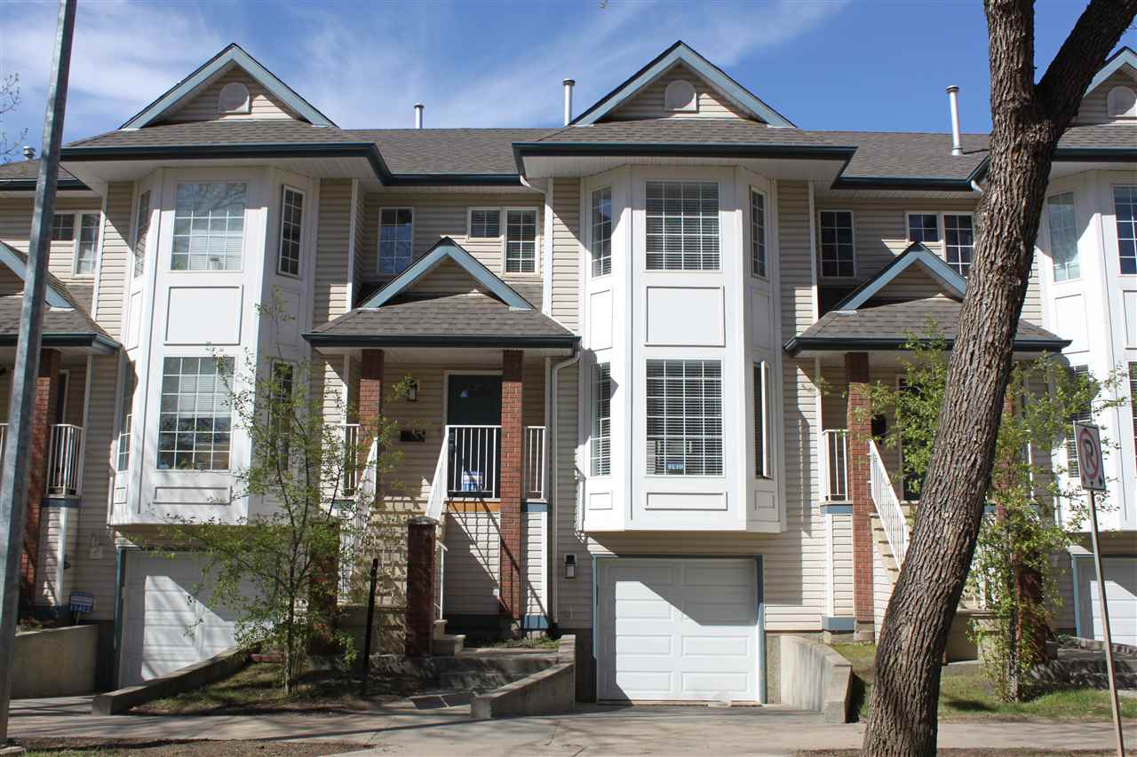 Main Photo: 11410 102 Avenue NW in Edmonton: Zone 12 Townhouse for sale : MLS®# E4105496
