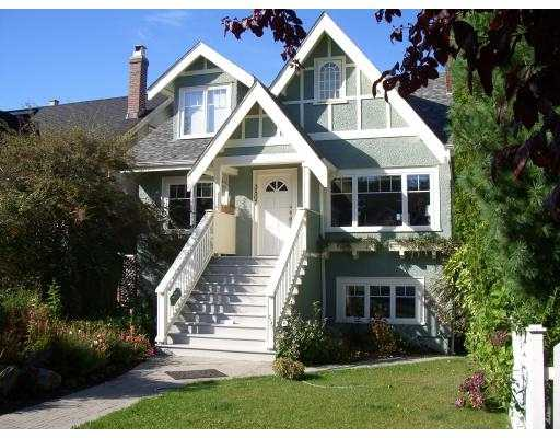 Main Photo: 3807 W 19TH AV in Vancouver: Dunbar House for sale (Vancouver West)  : MLS®# V556475