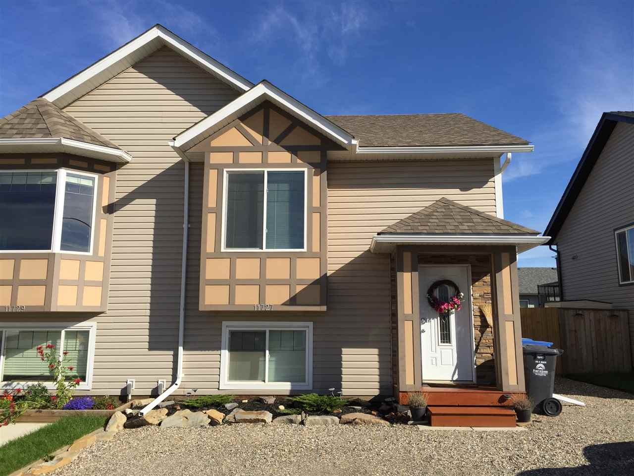 Main Photo: 11727 98A Street in Fort St. John: Fort St. John - City NE House 1/2 Duplex for sale (Fort St. John (Zone 60))  : MLS® # R2110876