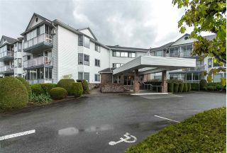 "Main Photo: 203 2425 CHURCH Street in Abbotsford: Central Abbotsford Condo for sale in ""PARKVIEW PLACE"" : MLS®# R2287252"