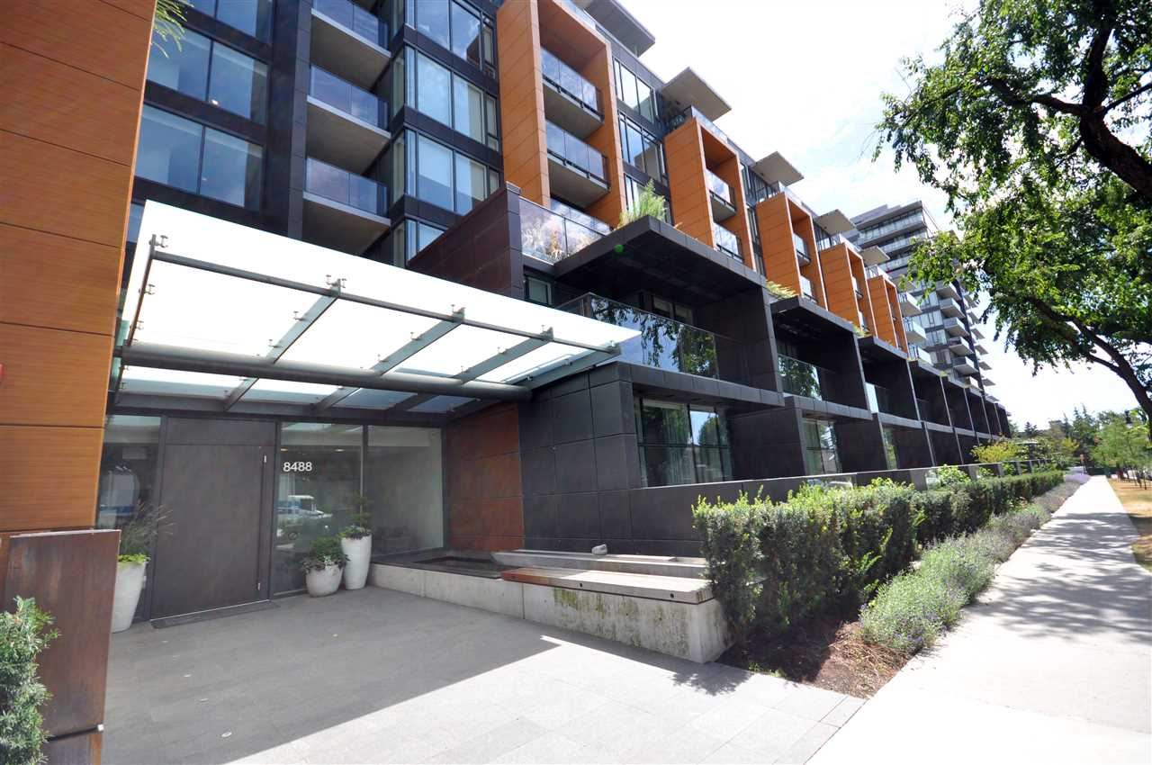 Main Photo: 816 8488 CORNISH STREET in Vancouver: S.W. Marine Condo for sale (Vancouver West)  : MLS®# R2191875