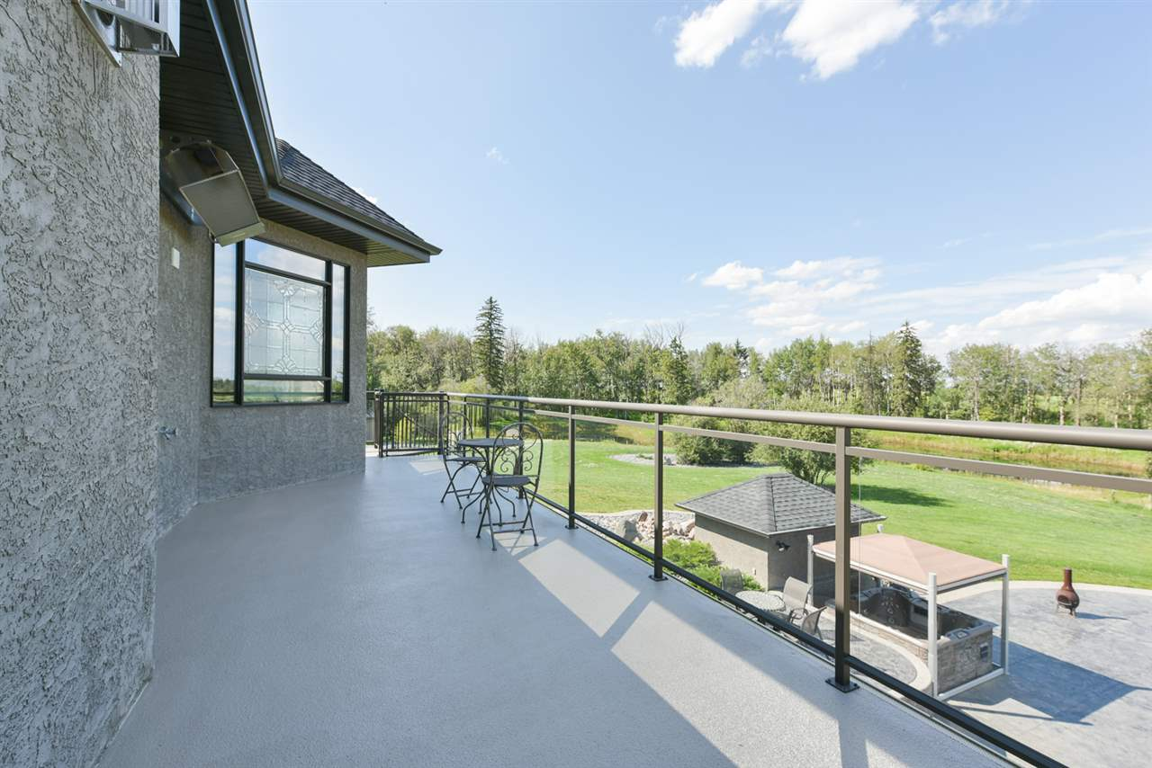 A maintenance free deck with a view for miles is located just off of the master bedroom!