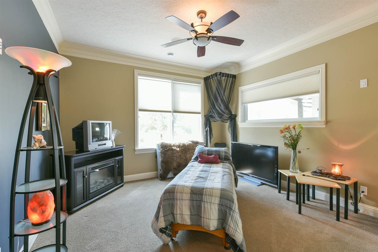 Just one of the generous sized bedrooms with lots of natural light!