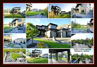 Main Photo: 1234 CHAHLEY Landing in Edmonton: Zone 20 House for sale : MLS® # E4083146