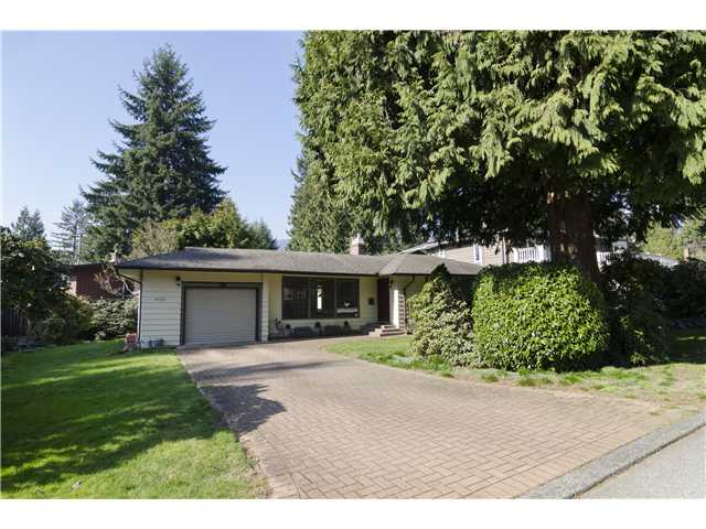 Main Photo: 4731 PHEASANT Place in North Vancouver: Canyon Heights NV House for sale : MLS® # V1109859