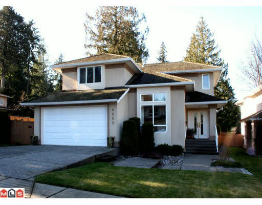 Main Photo: 4665 206TH STREET in : Langley City House for sale (Langley)  : MLS®# F1004385