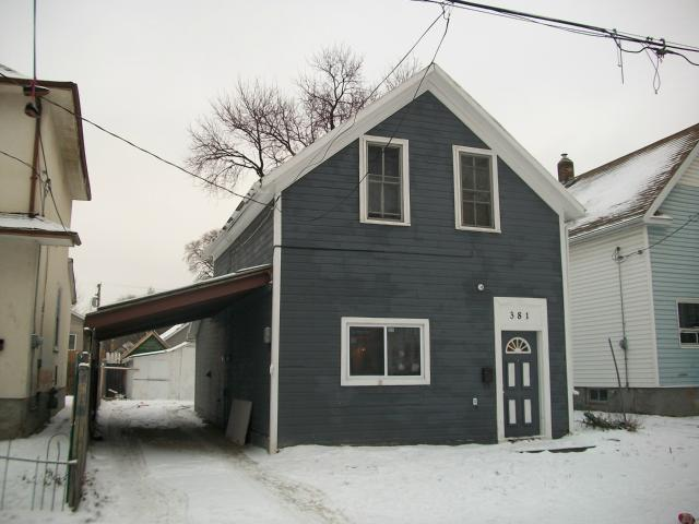 Main Photo: 381 Alfred Avenue in WINNIPEG: North End Residential for sale (North West Winnipeg)  : MLS® # 1200354