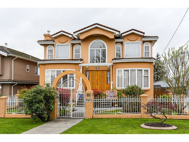 Main Photo: 7571 DAVIES ST - LISTED BY SUTTON CENTRE REALTY in Burnaby: Edmonds BE House for sale (Burnaby East)  : MLS® # V1113465