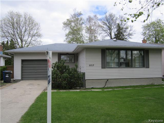 Main Photo: 1127 Rothesay Street in WINNIPEG: North Kildonan Residential for sale (North East Winnipeg)  : MLS® # 1512916