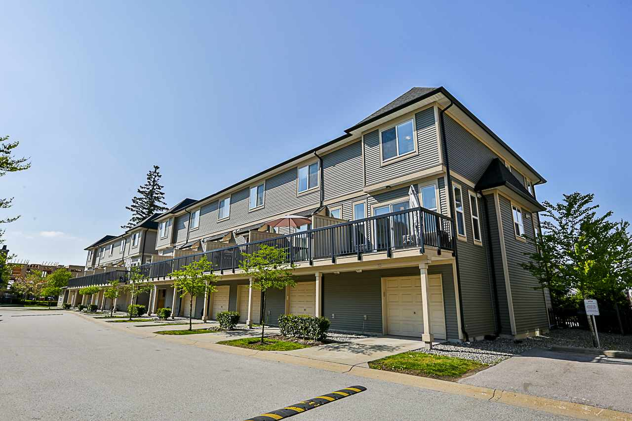 "Main Photo: 33 7938 209 Street in Langley: Willoughby Heights Townhouse for sale in ""Red Maple Park"" : MLS®# R2262152"