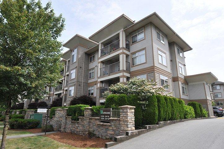 "Main Photo: 214 12238 224 Street in Maple Ridge: East Central Condo for sale in ""THE URBANO"" : MLS®# R2275393"
