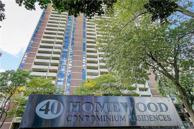 FEATURED LISTING: 607 - 40 Homewood Avenue Toronto