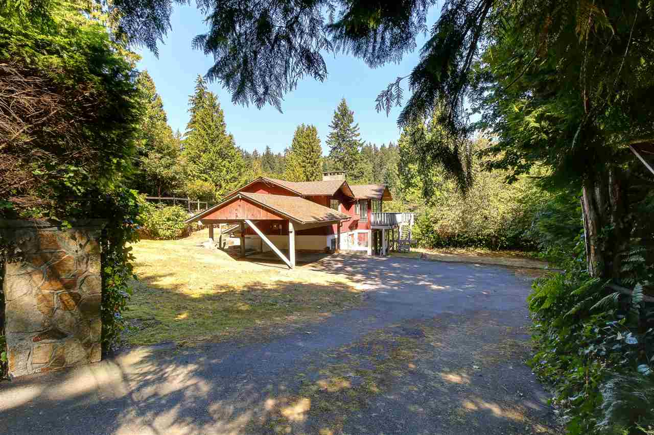 Main Photo: 4909 WATER Lane in West Vancouver: Olde Caulfeild House for sale : MLS® # R2203588