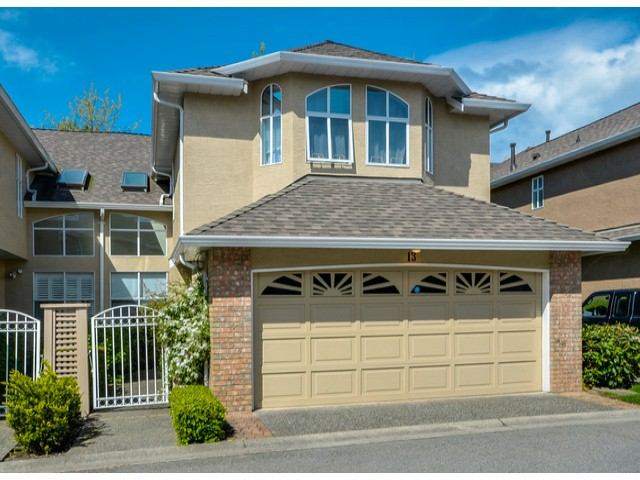 "Main Photo: 13 6211 W BOUNDARY Drive in Surrey: Panorama Ridge Townhouse for sale in ""LAKEWOOD HEIGHTS"" : MLS®# F1411794"