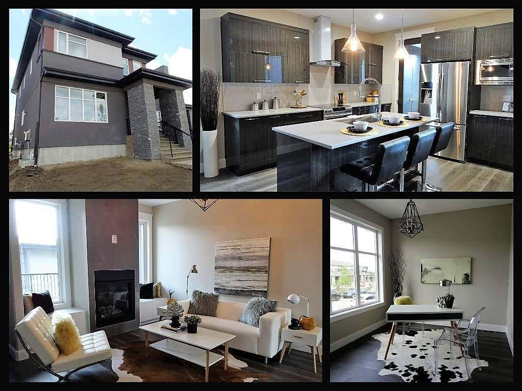 Main Photo: 7251 MAY Road in Edmonton: Zone 14 House Half Duplex for sale : MLS® # E4068475