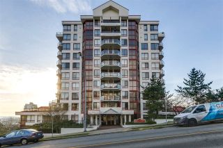 "Main Photo: 407 220 ELEVENTH Street in New Westminster: Uptown NW Condo for sale in ""QUEENS COVE"" : MLS® # R2227680"